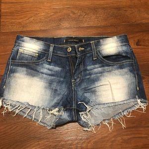Distressed Cutoff Shorts